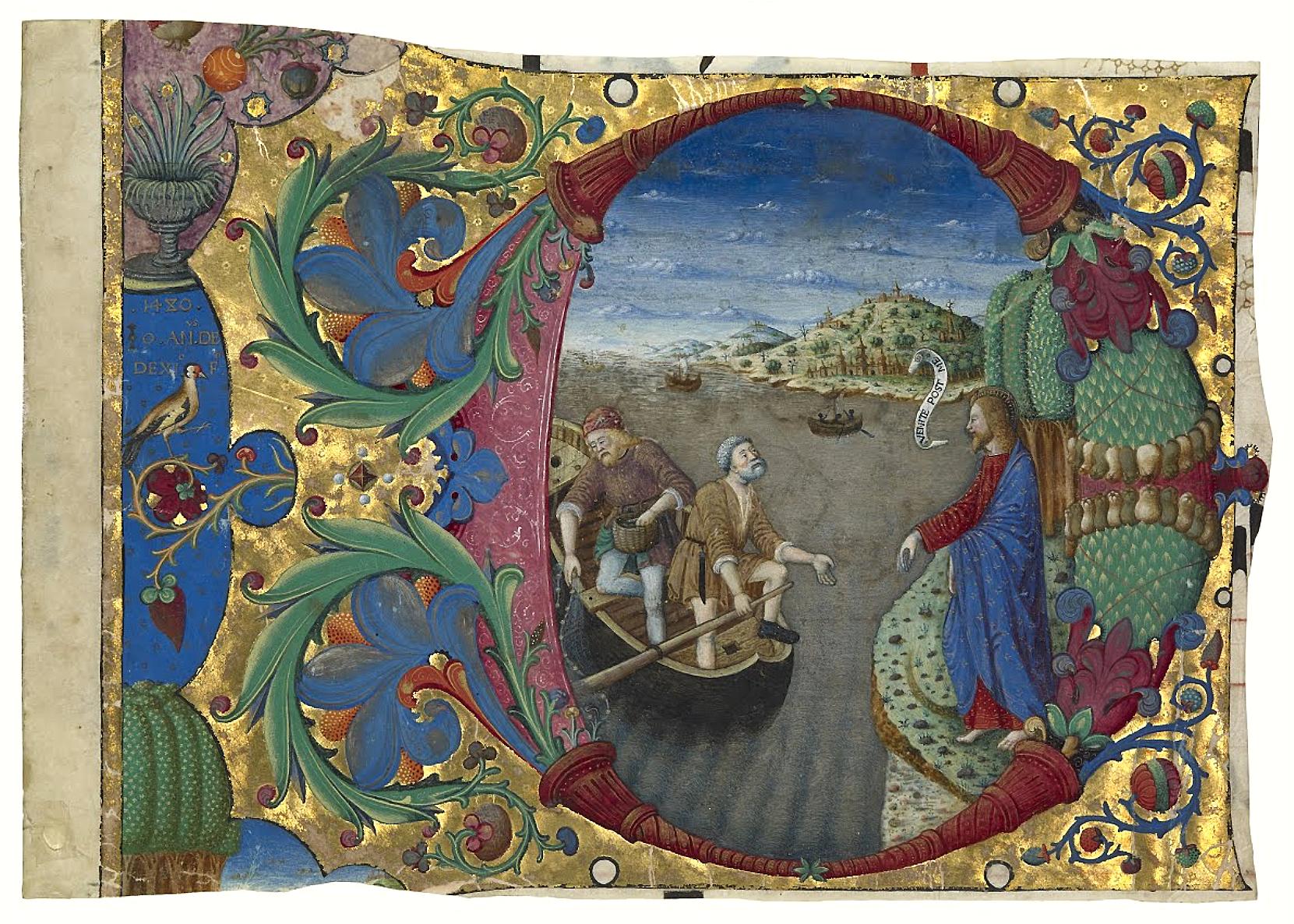 F/Iluminura de Giovanni Antonio Decio - 1480