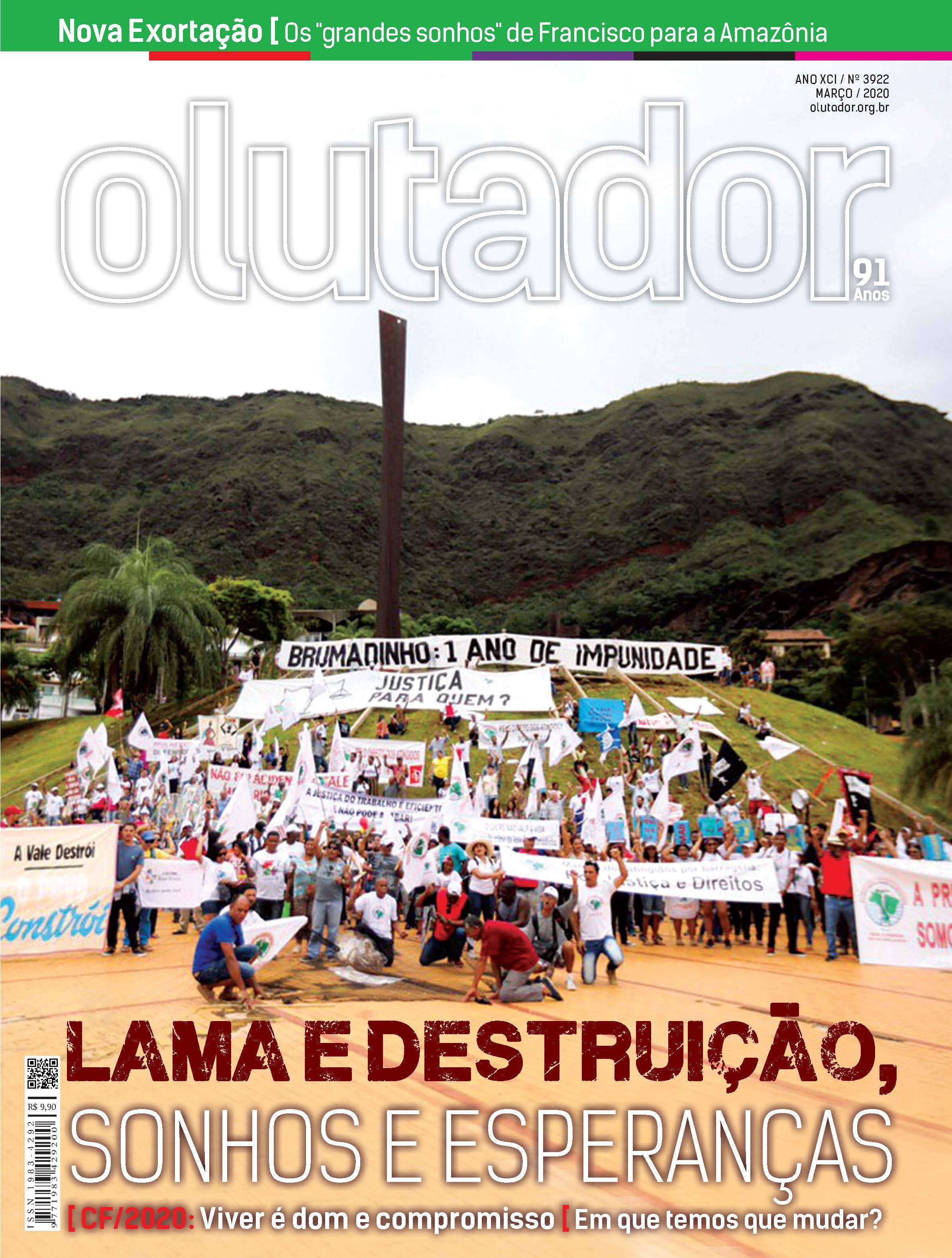 Mobilização contra Vale rompimento da barragem em Brumadinho