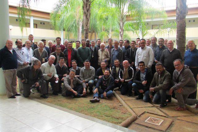 Missionários Sacramentinos reunidos