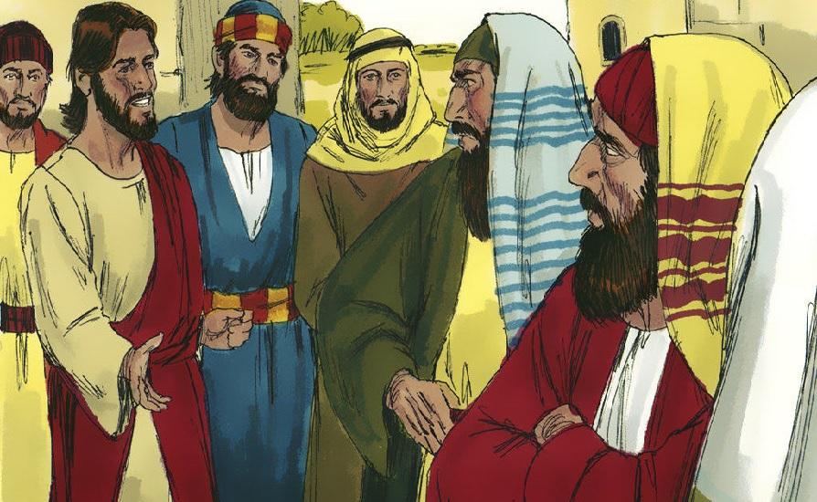 Jesus; lei da pureza; leigos